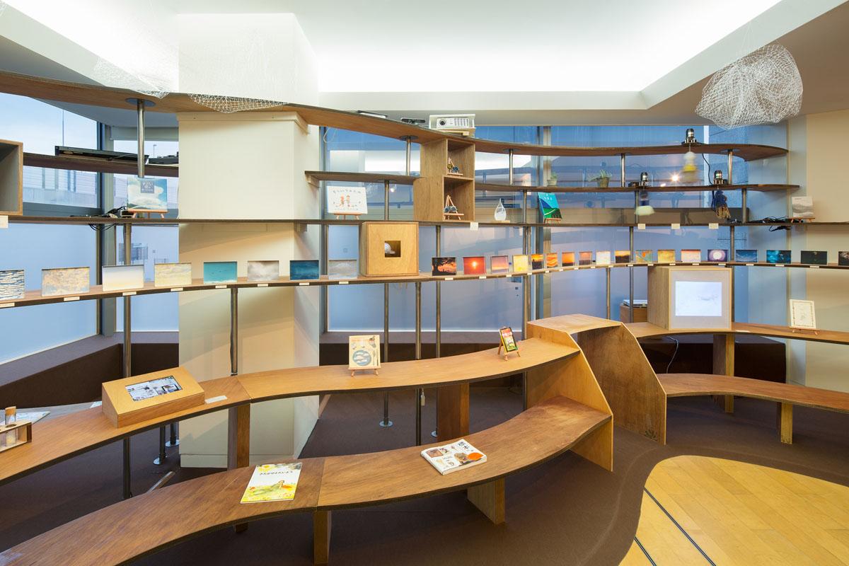地層の棚  / Strata Shelf